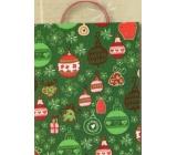 Nekupto Dárková kraftová taška největší 46 x 33 x 10,5 cm Vánoční 387 WCXL
