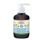 Green Pharmacy Aloe Vera a Olej z lněných semen jemný čisticí gel na obličej 270 ml