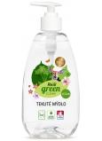 Real Green Clean tekuté mýdlo na ruce ve veganské kvalitě 500 g