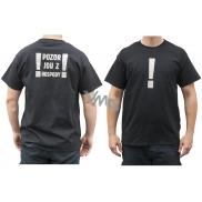 Bohemia Gifts & Cosmetics Originální tričko s reflexním potiskem Pozor, jdu z hospody! velikost L