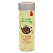 English Tea Shop Bio Punč s Medovým Keřem a Ovocem Acai 15 kusů bioodbouratelných pyramidek čaje v recyklovatelné plechové dóze 30 g, dárková sada