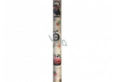 Ditipo Dárkový balicí papír 70 x 200 cm Vánoční Disney Auta béžový