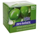 Mitia Bio výtažky olivového oleje vyživující pleťový a tělový krém 250 ml