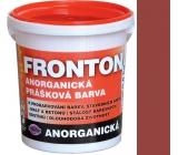 Fronton Anorganická prášková barva Kaštanová venkovní a vnitřní použití 800 g