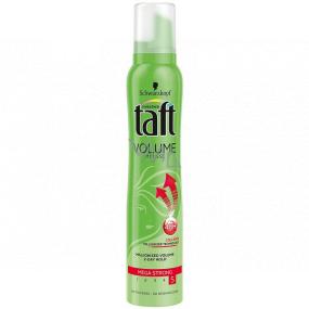 Taft Volume Mega Strong mega silná fixace 5 pěnové tužidlo 200 ml