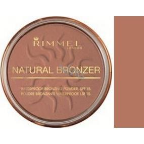 Rimmel London Natural Bronzer pudr 021 Sun Light 14 g