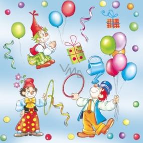 Maki Papírové ubrousky cirkus 3 vrstvé 33 x 33 cm 20 kusů