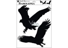 Samolepka siluety ptáci 42 x 30 cm č.4