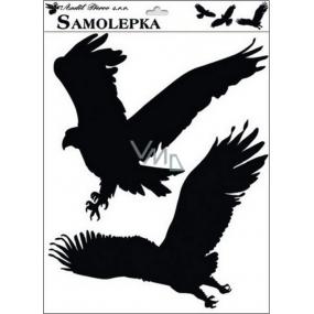 Samolepka siluety ptáci č.4 42 x 30 cm