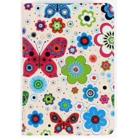 Albi Diář mini Motýlci na bílé 7,5 cm × 11 cm × 1,1 cm