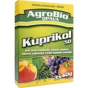 AgroBio Kuprikol 50 přípravek na ochranu rostlin proti houbovým chorobám 3 x 40 g