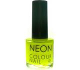 Dor Neon Colour Nail lak na umělé nehty N1 neonová žlutá 9 ml