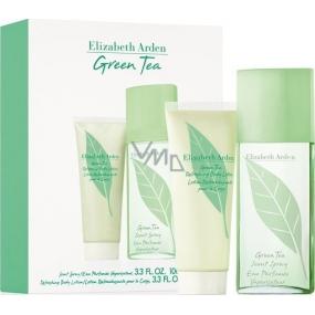 Elizabeth Arden Green Tea parfémovaná voda pro ženy 100 ml + tělové mléko 100 ml, dárková sada