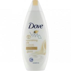 Dove Nourishing Silk sprchový gel pro dlouhodobě vyživenou pokožku 250 ml