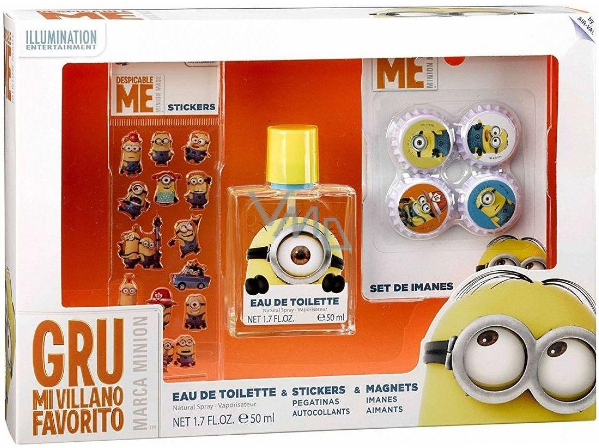 Mimoni Eau De Toilette 50 ml + Magnets 4 pcs + Stickers 20 pcs, gift set