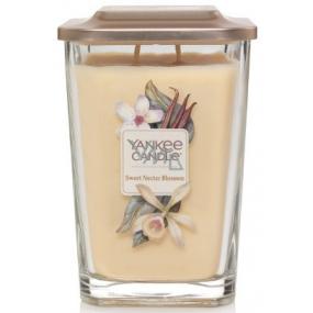 Yankee Candle Sweet Nectar Blossom - Sladký květinový nektar sojová vonná svíčka Elevation velká sklo 2 knoty 552 g
