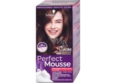 Schwarzkopf Perfect Mousse Permanent Foam Color barva na vlasy 468 Ledové kakao