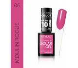 Revers Solar Gel gelový lak na nehty 06 Moulin Rouge 12 ml