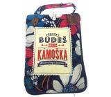 Albi Skládací taška na zip do kabelky s nápisem Skvělá kamarádka 42 x 41 x 11 cm