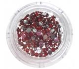 Professional Ozdoby na nehty kamínky červené 132