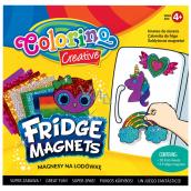 Colorino Udělej si sám, sada magnetů s barevnými fóliemi 10 barevných fólií + 4 různé magnety