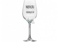 Albi Můj Bar Mega sklenice na víno Zlepšuji si náladu 670 ml