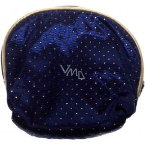 Etue Luxusní saténová modrá malá 13 x 12,5 x 2 cm 12/4273