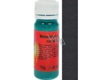 Art e Miss Barva na světlý i tmavý textil 14 metalická černá 12 g