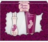 Christina Aguilera Touch of Seduction parfémovaná voda pro ženy 30 ml + sprchový gel 50 ml, dárková sada