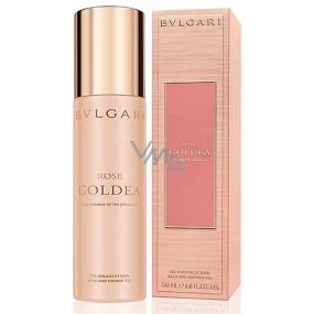 Bvlgari Rose Goldea sprchový gel pro ženy 200 ml
