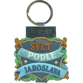 Albi Knížka se jménem na klíče Svět podle Jaroslava 6 x 9,5 cm