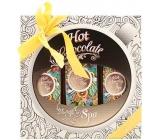 Bohemia Gifts & Cosmetics Hot Chocolate Spa Koupelová lázeň 250 ml + dárkový sprchový gel 200 ml + vlasový šampon 200 ml