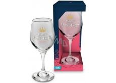 Albi Můj Bar Sklenice na víno glitter Párty princezna 270 ml