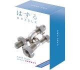 Huzzle Cast U&U kovový hlavolam, obtížnost 4