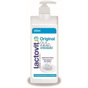 DÁREK Lactovit Original vyživující tělové mléko 250 ml