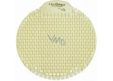 Fre Pro Slant Fresh Bloom vonné sítko do pisoáru transparentní 18 x 18 x 1,5 cm 81 g