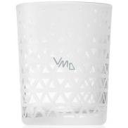 Yankee Candle Belmont Sandblasted on Glass svícen na votivní svíčku 7 x 5,5 cm