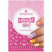 Essence Sweet Girl Nail Stickers nálepky na nehty 44 kusů