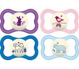 Mam Air Night silikonové ortodontické šidítko 6+ měsíců různé vzory a barvy 1 kus