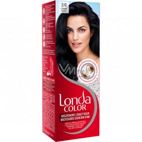 Londa Color barva na vlasy 2/0 Černá