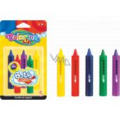 Colorino Voskovky do vany pro děti 3+, 5 barev