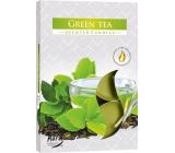 Bispol Aura Green Tea - Zelený čaj vonné čajové svíčky 6 kusů