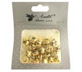 Rolničky zlaté 1,5 cm 20 kusů