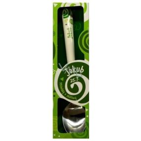 Nekupto Twister Lžička se jménem Jakub zelená 16 cm
