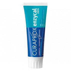 Curaprox Enzycal Zero zubní pasta omezuje vytváření aft 15 ml