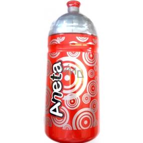 Nekupto Láhev pro zdravé pití s názvem Aneta 0,5 l 1 kus