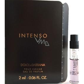 Dolce & Gabbana Intenso pour Homme parfémovaná voda 2 ml s rozprašovačem, Vialka
