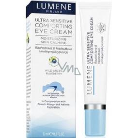 Lumene Ultra Sensitive Comforting Eye Cream uklidňující a hydratační oční krém pro velmi citlivou pleť 15 ml