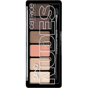 Catrice Sand Nudes Eyeshadow Palette paleta očních stínů 010 Hug S and Kisses 6 g