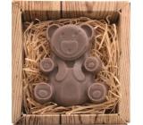 Bohemia Gifts Medvídek ručně vyráběné toaletní mýdlo v krabičce 60 g
